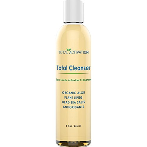 Natural Face and Body Exfoliator and Cleanser Gel, Gentle Daily Wash to Exfoliate Skin, Anti-Aging Facial Moisturizer Helps Men and Women with Dry, Oily or Sensitive Skin get that Extra Glow, 8 oz