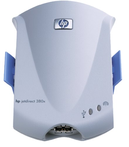 HP J6061A-ABA Jet Direct 380x External Print Server (802.11b) by HP