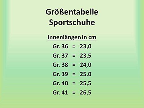 très turquoise sport léger Chaussures et GIBRA® taille 36 confortable rose de qH7xtU