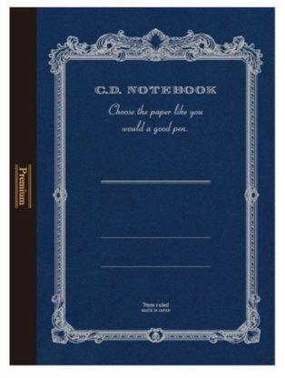 3 x Apica Premium C.D. Notebook - A5 - 7 mm Rule - 96 Sheets
