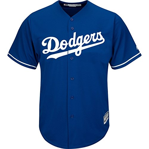 1dcd607eadc ... top quality clayton kershaw los angeles dodgers blue mlb youth cool base  alternate replica jersey free