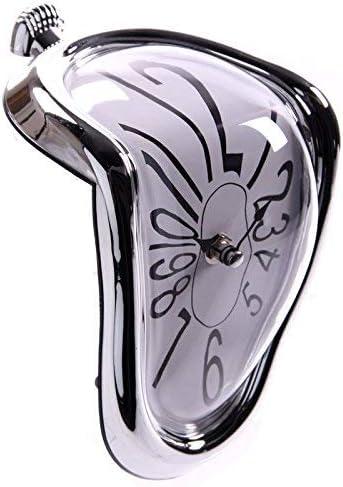 Puckator/ Horloge Fondue Plastique CLCK14 Couleur Argent