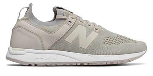 石灰岩モスク違う(ニューバランス) New Balance 靴?シューズ レディースライフスタイル 247 Decon Moonbeam with White ホワイト US 5.5 (22.5cm)