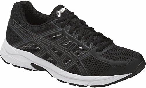 Asics Athletic Shoes - ASICS Women's Gel-Contend 4 Running Shoe, Black/Black/Carbon, 9 Medium US
