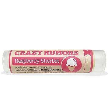 Crazy Rumors Raspberry Sherbet Lip Balm, 0.15 oz. bareMinerals Complexion Rescue Tinted Hydrating Gel Cream SPF 30, Tan 07