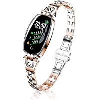 Female's Fitness Tracker, Smart Watch with Blood Pressure/Heart Rate/Sleep Monitor for Women