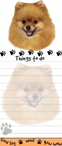 Pomeranian List Pad
