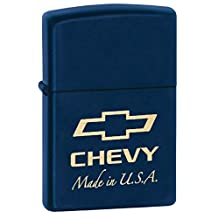 Chevy Chevrolet Style3 Zippo Outdoor Indoor Windproof Lighter Free Custom Personalized Engraved Message Permanent Lifetime Engraving on Backside
