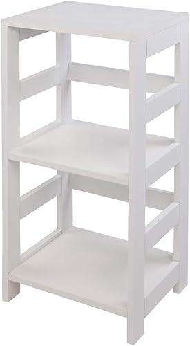 3-Tier Bookcase Wooden Bookshelf Open Shelf Bookcase Shelving Multi-Functional Storage Shelf Units