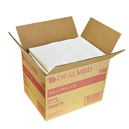 - Dealmed Disposable Tissue/Poly Pillowcases, 21