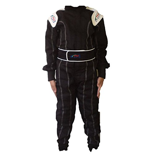 Kids//Children New Karting//Race Overall//Suits Polycoton Indoor /& Outdoor