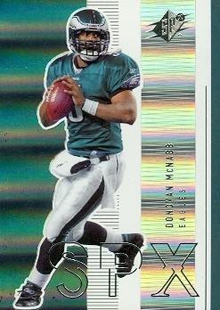 Donovan McNabb Football Card (Philadelphia Eagles) 2005 Upper Deck SPX #69