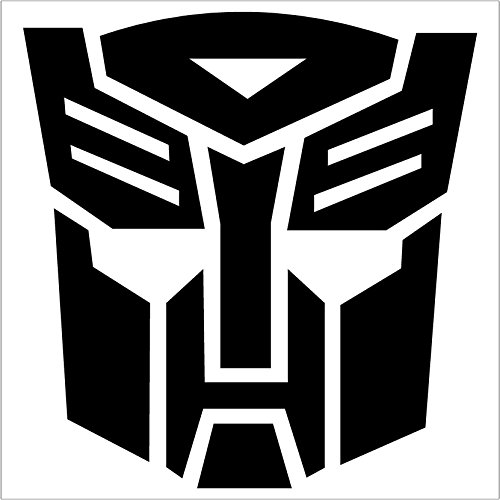 TRANSFORMERS AUTOBOT Truck Notebook Sticker product image