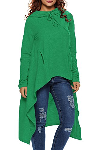 Dokotoo Womens Plus Size Fall Long Sleeve Loose Long