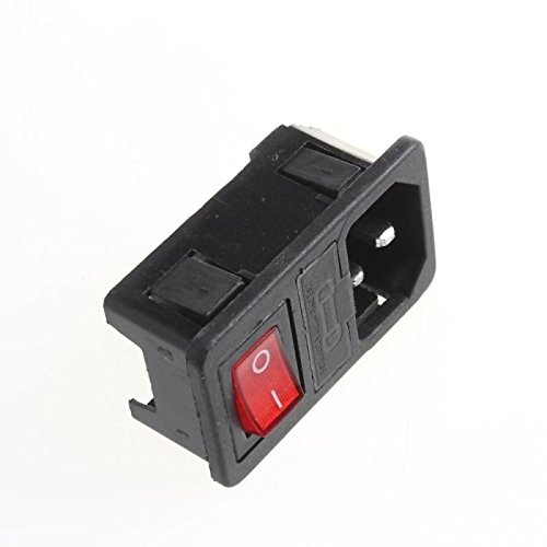 UXOXAS AC Power Outlet Switch 10A/250V