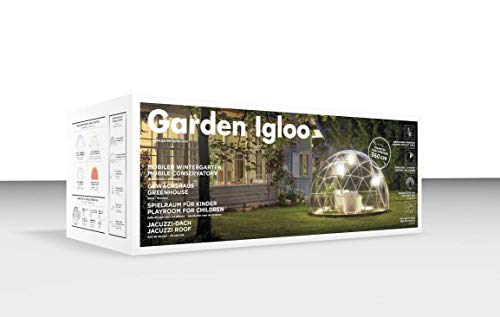 - Garden Dome Igloo - 12 Ft Stylish Conservatory, Play Area, Greenhouse or Gazebo.