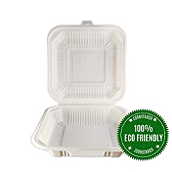 [100 Count] Eco Friendly To Go Container...