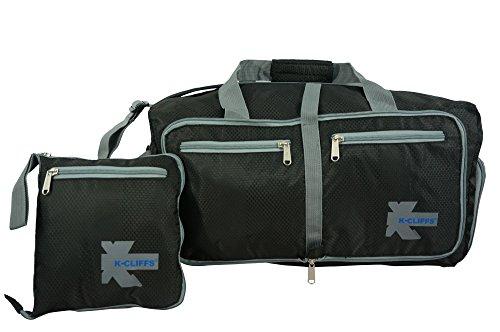 Duty Footwear Heavy (Lightweight Gym Bag Heavy Duty Duffel Foldable Travel Tote Shoe Compartment L)