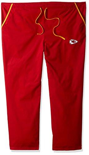 Kansas Scrubs - NFL Kansas City Chiefs Boys Solid Scrub Pants, XX-Large, Red