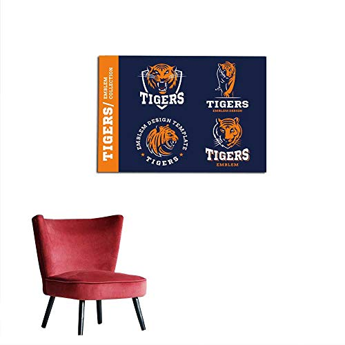 Decor Tigers Design Collection Mural 36