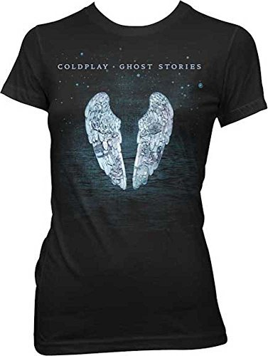 Coldplay Ghost Stores Black Juniors T-Shirt (Large)