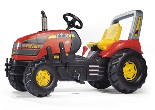 Trettraktor Mädchen - Rolly Toys X-Trac Rot