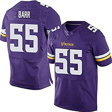 Men NFL Rugby Jersey Football clothing-Minnesota Vikings 22# Smith//28# Peterson//14# Diggs// 55# BARR Mens Rugby Fan T-Shirts Print Top Short Sleeve for Men