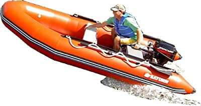 Saturn 13 ft Red Inflatable Boat