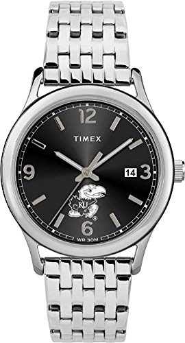 (Timex Women's Kansas Jayhawks KU Watch Sage Stainless Watch )