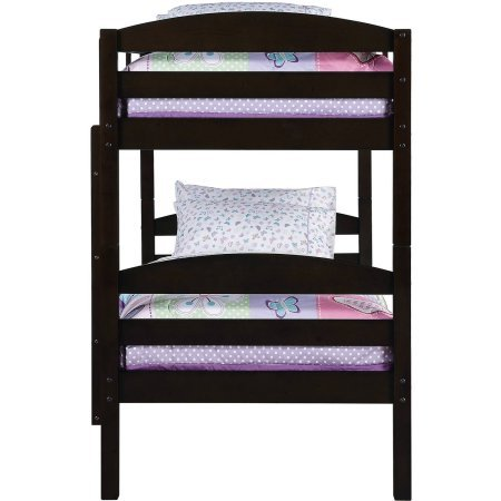 Better Homes and Gardens Leighton Twin Over Twin Wood Bunk Bed (Bed Only) by Better Homes and Gardens (Image #4)