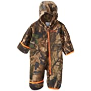 Columbia Baby Boys' Snowtop II Bunting, Timberwolf, 3-6 Months