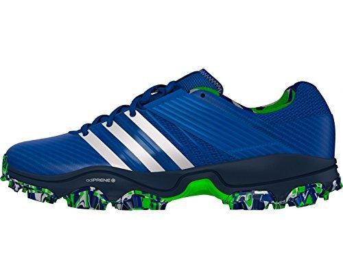 Adidas Adistar Hockey Schuh 4m blau weiß, UK 3,5