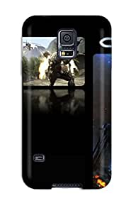 New Style 9974837K26918402 Special Skin Case Cover For Galaxy S5, Popular Crysis Phone Case