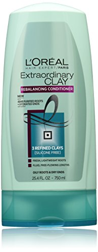 L'Oreal Paris Hair Care Expert Extraordinary Clay Conditioner, 25.4 Fluid Ounce