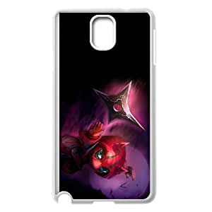 Samsung Galaxy Note 3 Cell Phone Case White League of Legends Deadly Kennen YD730947