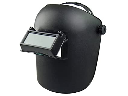 Flip-Up Welding Helmet with DIN 11 Lens - - Amazon.com