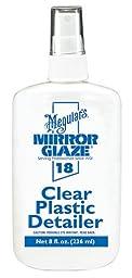 Meguiar\'s M18 Mirror Glaze Clear Plastic Detailer - 8 oz.
