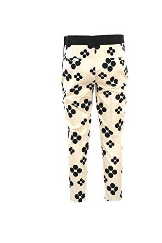 Pantalone nero 2423 Beige 46 Estate H Hanita p900 Primavera Donna 2019 wUdIWq