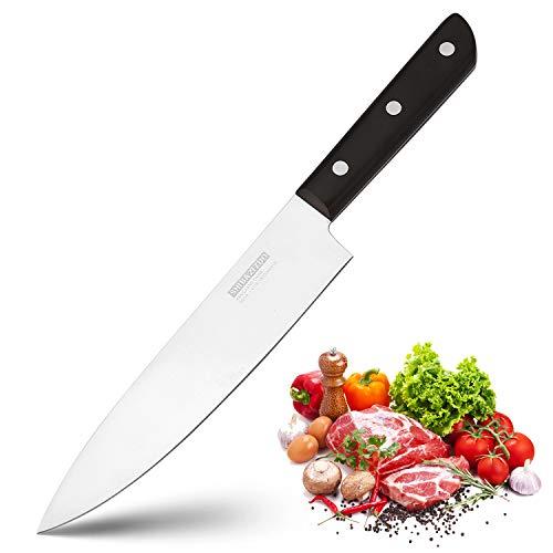 Shibazizuo Kitchen Knife 8 inch Chef's Knife Germany Stainless Steel Sharp Knives Ergonomic Cutlery Tool by SHI BA ZI ZUO