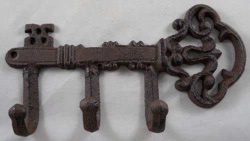 Iron Skeleton Key with Hooks
