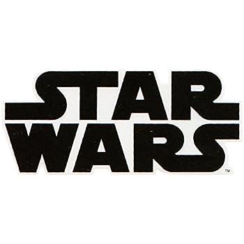 amazoncom 3 inch star wars logo text words symbol black