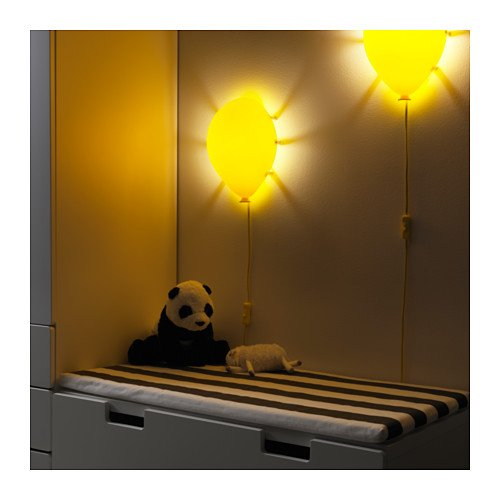 De Ikea Forme Ballon Drömminge En Murale Jaune Applique vOPN8n0ymw