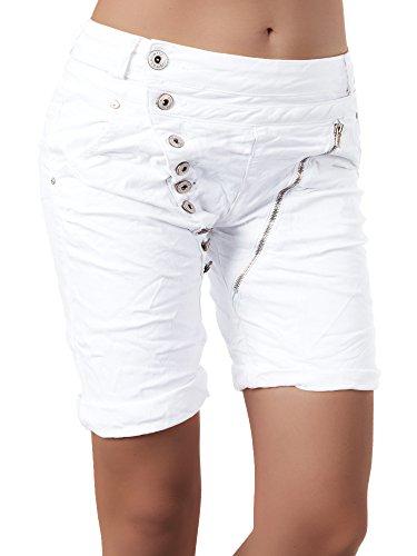 N870 Damen Bermuda Jeans Hose Shorts Damenjeans Hüftjeans Caprijeans  Boyfriend  Amazon.de  Bekleidung 7bb19cb8de