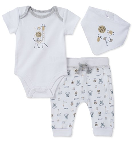eeper Pant Set With Bib, Assorted, 6-9 Months (Absorba Cotton Bib)