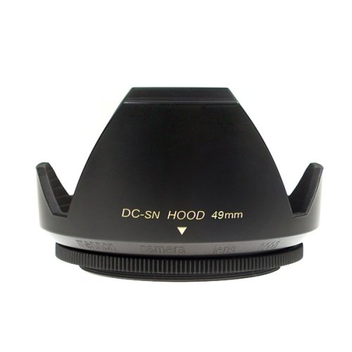 49mm Front Lens Cap for Canon Nikon Sony Fujifilm Camera (Black)- - 3