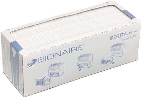 Bionaire A0701H HEPAPA - Filtro de Repuesto para Limpiador de Aire ...
