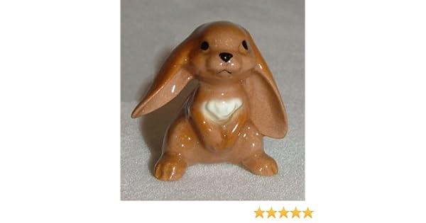 Hagen Renaker Lop Eared Rabbit Standing No White