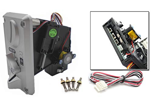 Atomic Market Plastic Front Panel CPU Multi Coin Acceptor Comparable Coin -