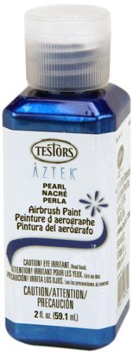 Testors Airbrush Paint, Pearl Blue