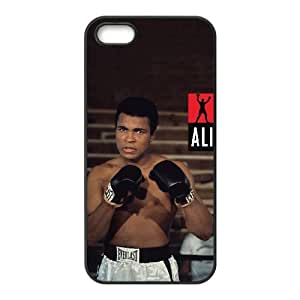 iPhone 5 5s Cell Phone Case Black Muhammad Ali owf